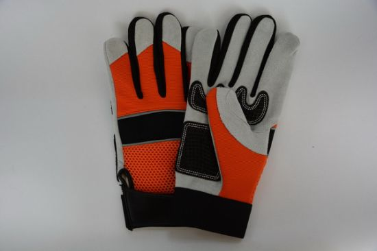 Work Glove-Working Leather Gloves-Safety Gloves-Protective Gloves-Labor Gloves pictures & photos
