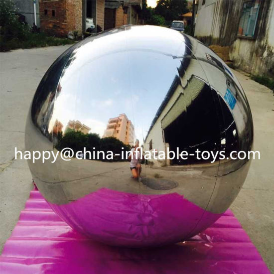 Gaint Round Inflatable Decoration Mirror Ball for Party pictures & photos