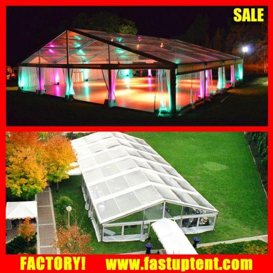 Clear Roof Tarpaulin Water Proof Wedding Banquet Fabric Tents Malaysia