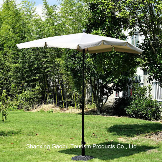 Rectangle Steel Umbrella with Tilt pictures & photos