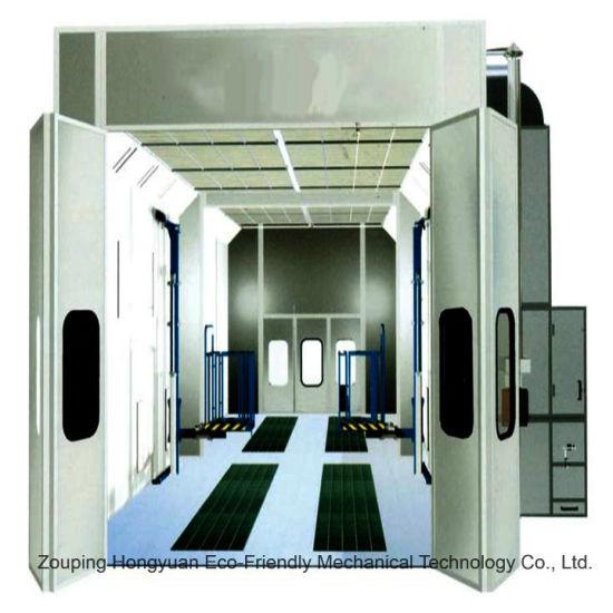 Truck Paint Spray Booth with Intake and Exhaust Fan for Sale