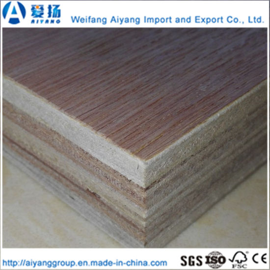 China 18mm Marine Plywood Double Face Melamine Container Wood