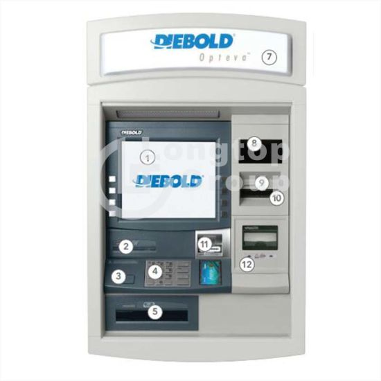 Diebold ATM Whole Machine Through The Wall ATM Opteva 740