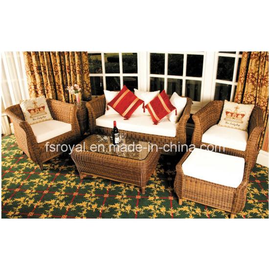 Antique Design Rattan Wicker Sofa Lounge Sets Leisure Chair Patio Garden Hotel Beach Bar Cafe Restraurant Outdoor Furniture Chinese Supplier