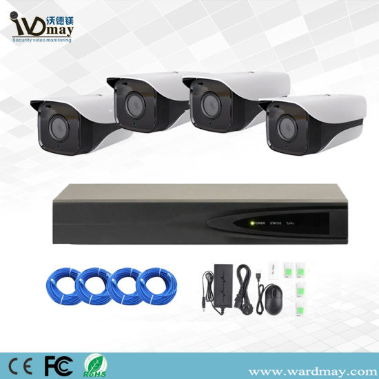 H. 265+ 4CH Poe System 3MP/5MP Resolution Starlight IP Cameras pictures & photos