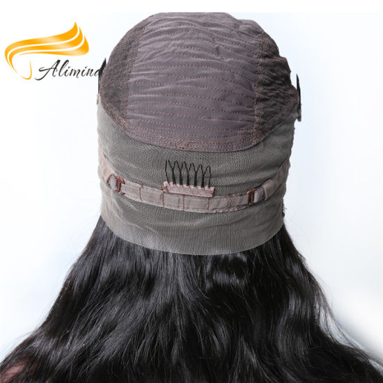 OEM Factory Price Virgin Indian Hair Lace Front Wigs pictures & photos