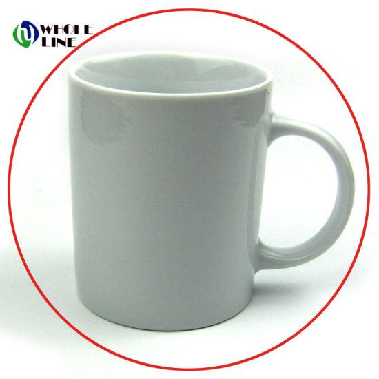Factory Whole Customized Printed White Porcelain Mug