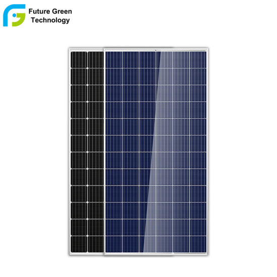 China Manufacturers Solar Photovoltaic Panel Multi Crystalline Silicon Solar Panel 320W 330W 340W for Sale