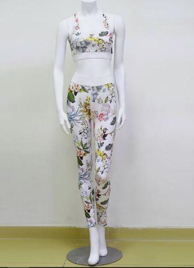 Two Pieces Women Yoga Suit of Sportswear