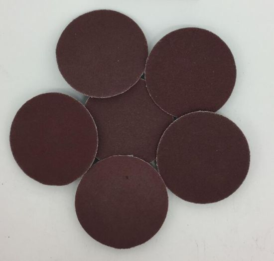 2 Inch Quick Change Discs Aluminum Oxide Roll Lock Sanding For Surface Conditioning