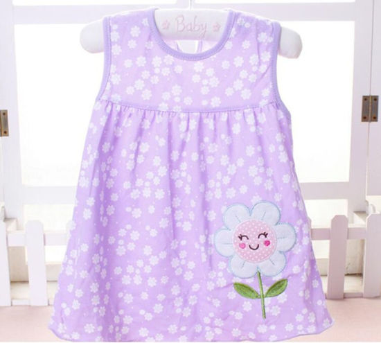 2018 Summer Kids Clothes Soft Cotton Infant Girl Dresses pictures & photos