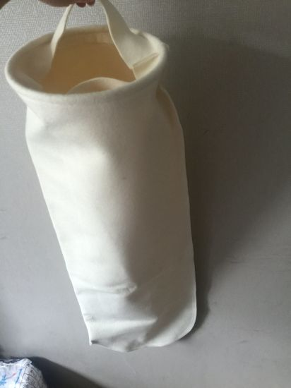 Nonwoven 1 Micron Needle Punched Wool Felt High Temperature Dust Collector Filter Bag