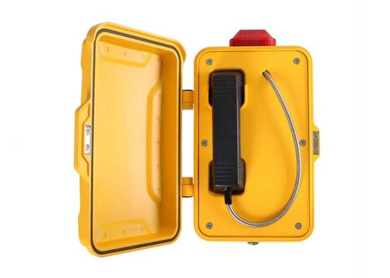 JR101-FK-L Weatherproof Emergency Industrial Telephone with LED