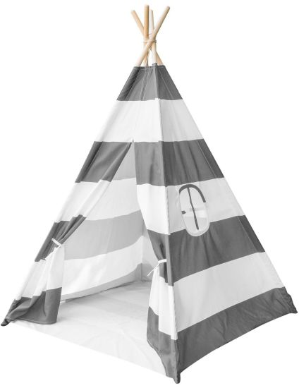 Kids Teepee Play Tent with Mat Floor for Girls and Boys