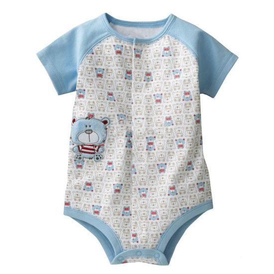 Bkd 2018 New Fashion Infant Wear Breathable Baby Onesie