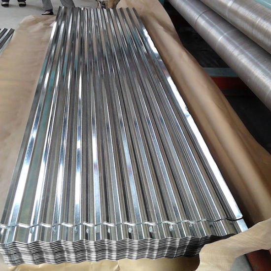 China Galvalume Corrugated Roofing Sheet Galvanised Metal Tin Roof