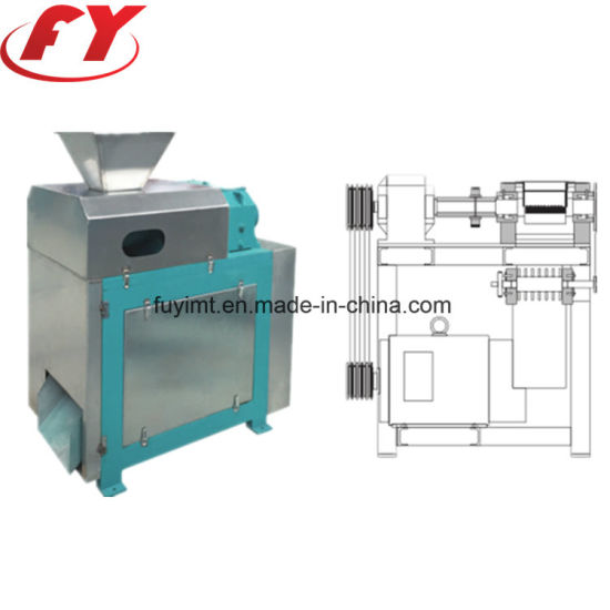 Ammonium sulfate fertilizer dry double roller granulator