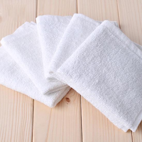 100% Cotton Economical Towels Terry Cloth Face Towel