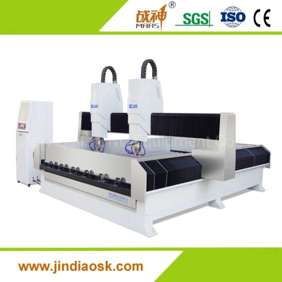 Stone Marble Granite Tombstone Headstone Cutting Carving Engraving CNC Machine