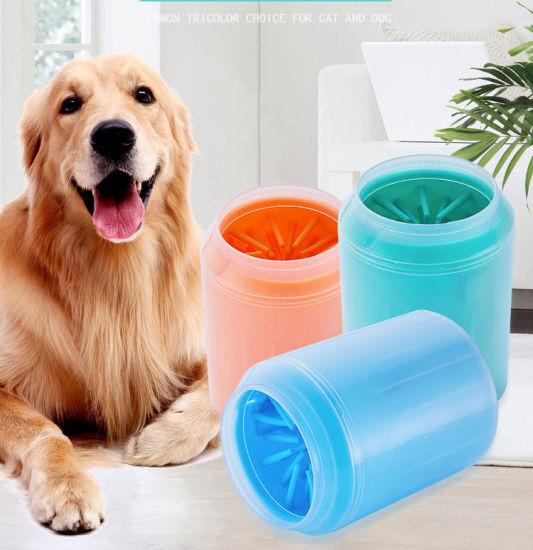 China Manufacturer Plastic Portable Dog Cat Pet Feet Washing Cup