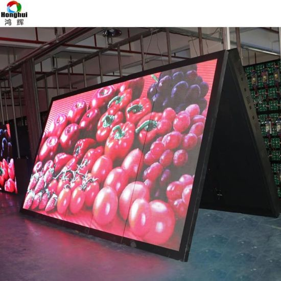 Outdoor Full Color Front Open P8/P10 LED Display for Advertising Sign Screen Billboard