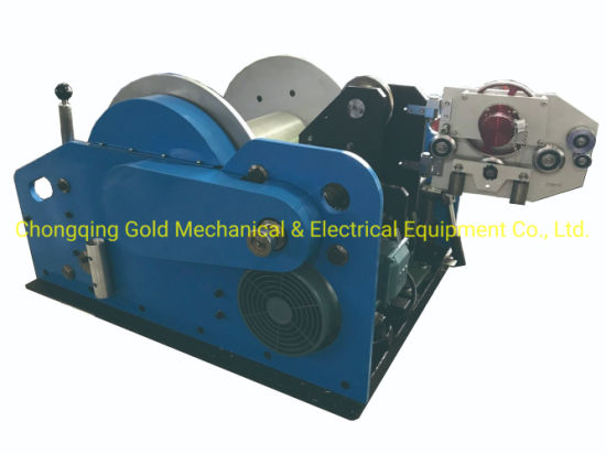 Borehole Logging Geophysical Winch Electrical Winch for Wireline Borehole Logging Water Well Logging Equipment