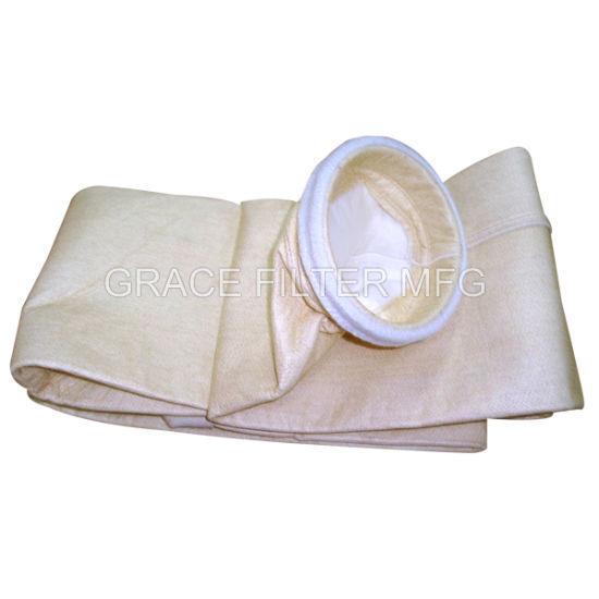 Fiberglass PTFE Nomex Fabric Dust Collector Filter Bag