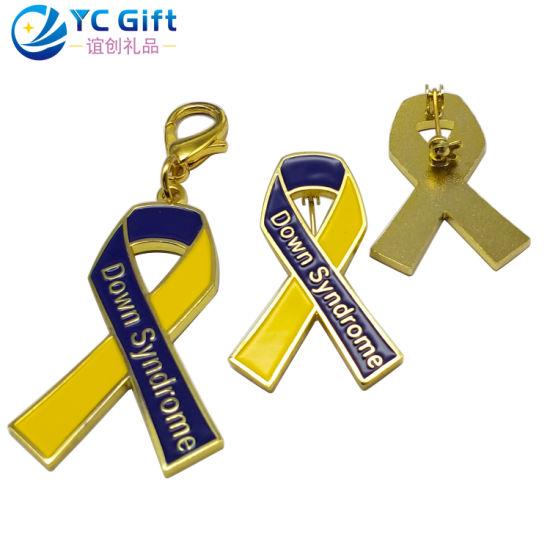Wholesale Custom Multifunction Metal Craft Soft Enamel Keychain Badge Company Activity Promotion Personalized Gift Emblem Fashion Colorful Lapel Pin with Logo