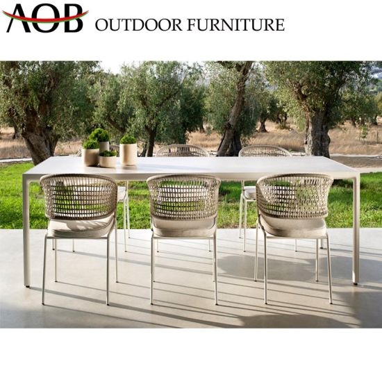 Chinese Modern Design Patio Dining Sets