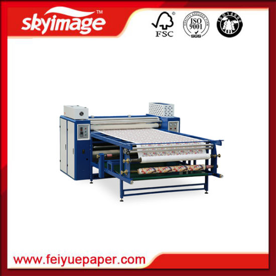 Top Grade Roller Drum Transfer Machine 600mm*3200mm for Large Format Printing