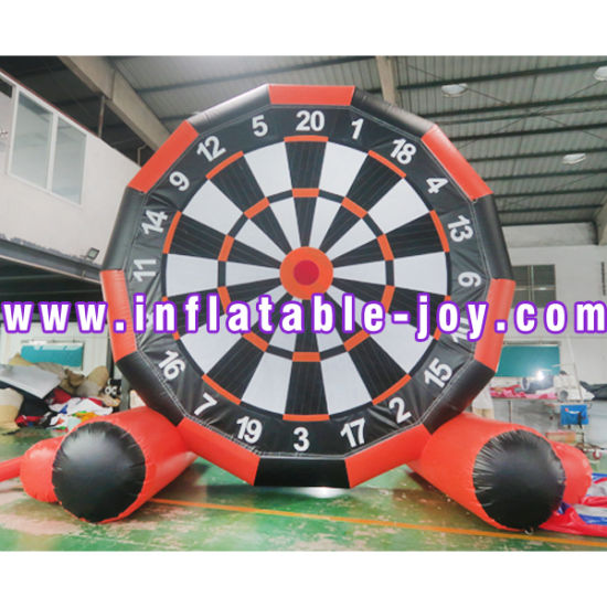 3m/10FT Inflatable Sticky Throwing Dart Carnival Game, Kids Inflatable Dart Board pictures & photos