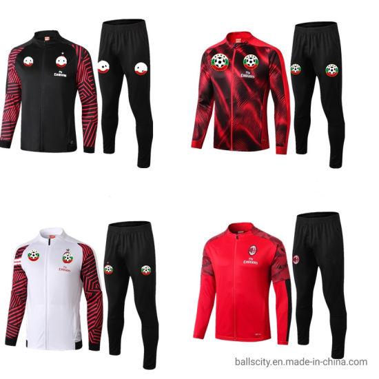 Wholesale Sport Training Soccer Jersey Football Fitness Running Top Jacket for Team
