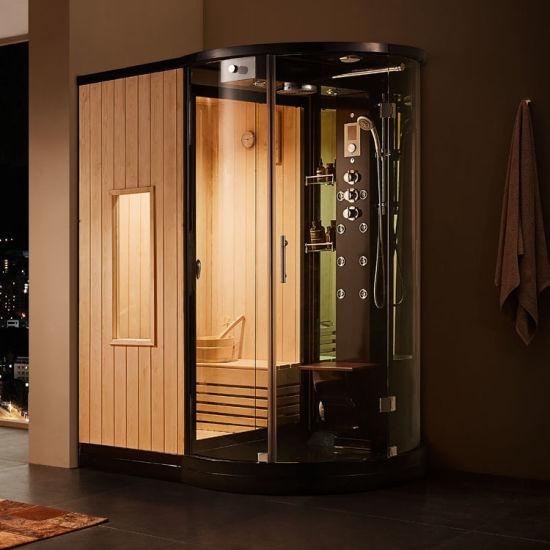 Home Bathroom Hot Steam Sauna Combined Room