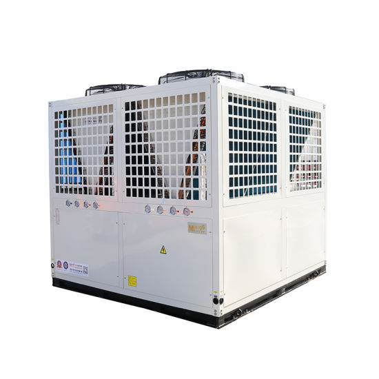 Air to Water Heat Pump 220kw Heating Capacity Hot Water 60-80 Degree