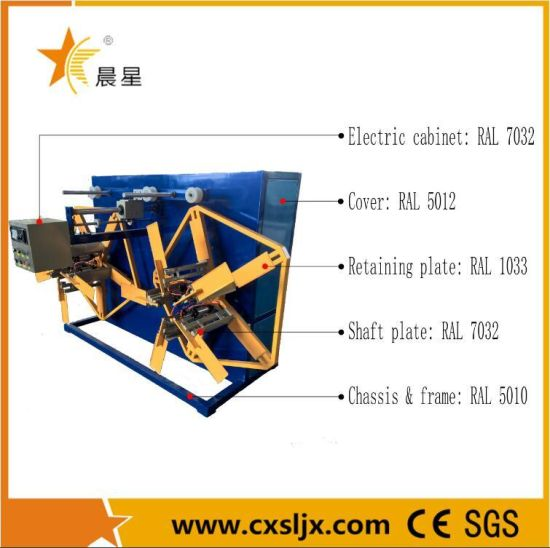 Hot Sale Double Disk Corrugated Pipe Winder