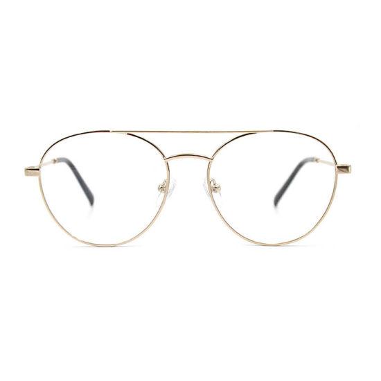 Hg5446 Round Double Bridge Eye Glasses