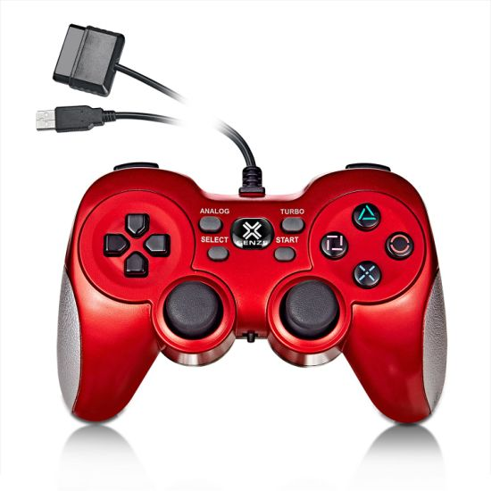 5 in 1 Multifunctional Wired Controller for PS2/PS3/PC/X-Input/Android Devices