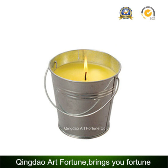 Pot Bucket Citronella Outdoor Candle for Garden Decor pictures & photos