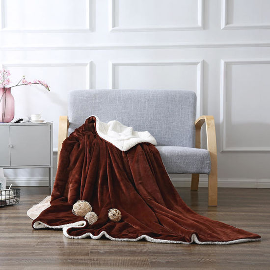 150*200 Plush Sherpa Fleece Blanket Luxury Warm Home Sofa Bed Throw 30 Colors