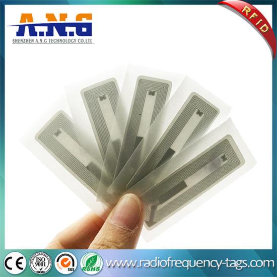 Hf RFID Tags Ultralight EV1 4k Adhesive Paper Label Rectangular