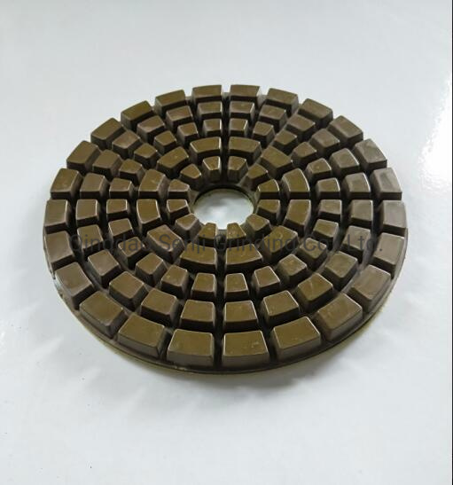 9 Inch 230mm Wet and Dry Resin Diamond Polishing Pad Grinding Disc for Stone and Concrete Floor Polishing