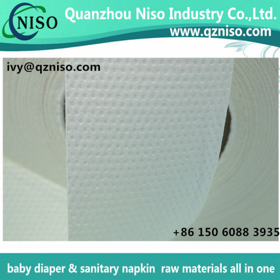 Absorbent Sap Paper Airlaid Paper Fluff Pulp Absorbent Paper for Sanitary Napkin