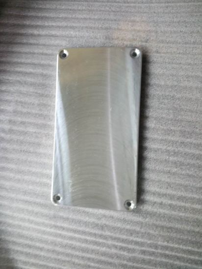Custom CNC Machining Part with Gloss Silver Coating pictures & photos