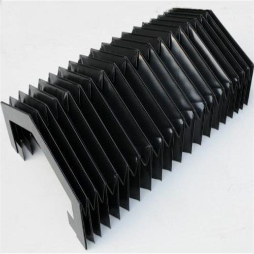 Plastic Rubber Material CNC Bellow Cover
