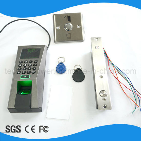 China Wiegand Fingerprint Time Attendance and Access Control System