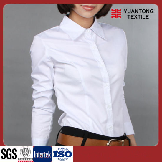 Combed 100% Cotton White Shirt Fabric pictures & photos