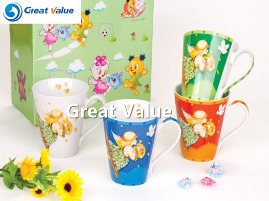 2017 New Design Porcelain Coffee Mug pictures & photos