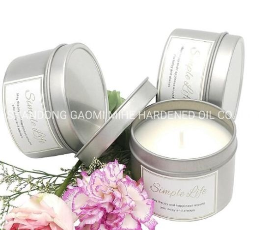 Paraffin Wax Filled Aroma Fragrance Wax Candle in Tin Can, Paraffin Candle pictures & photos