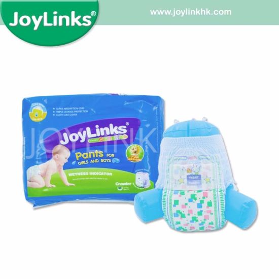 Joylinks 2019 Hot Sales Disposable Baby Training Diaper/Pants