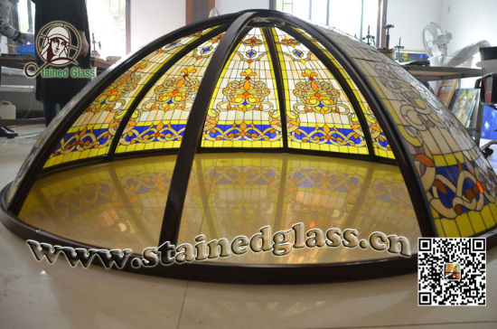 Art Stained Glass Windows & Panels D008